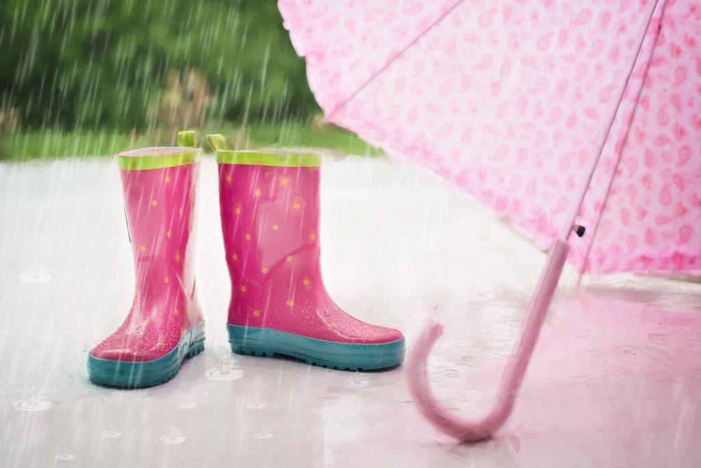 Все лето компенсация за дождь