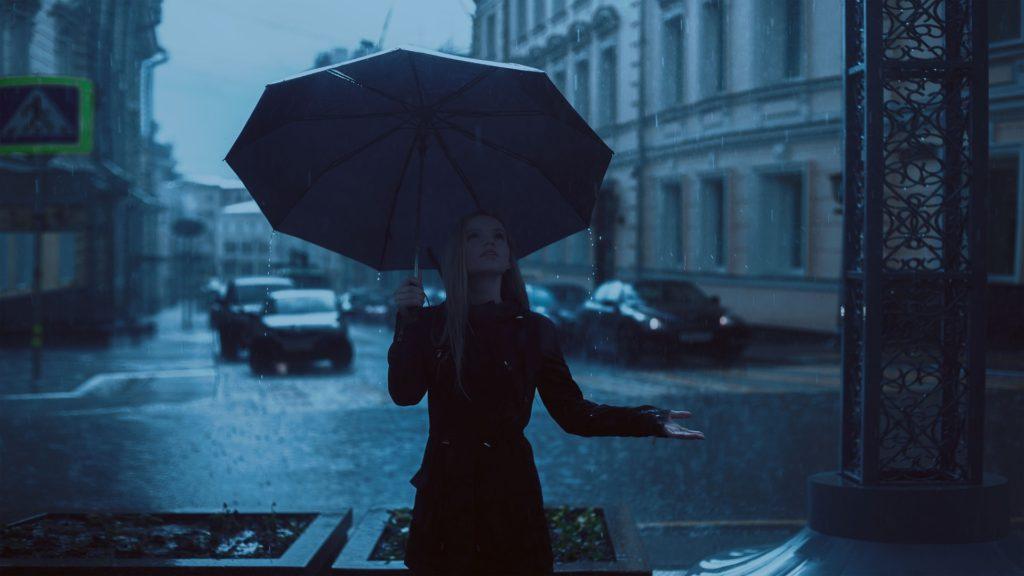 Если застал дождь…